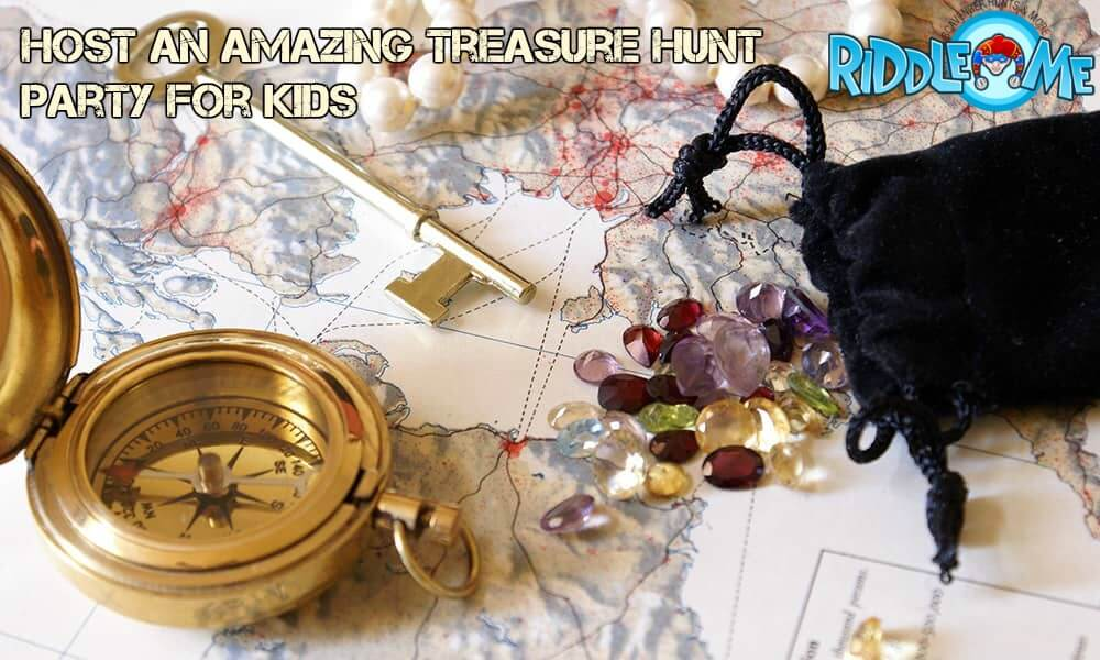 Host An Amazing Treasure Hunt Party For Kids