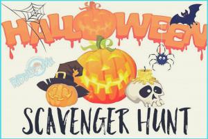 Holloween Scavenger Hunts